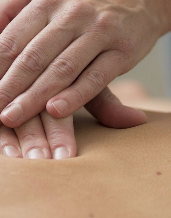 deep tissue massage reading